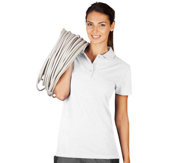 Damen Polo-Shirt weiß