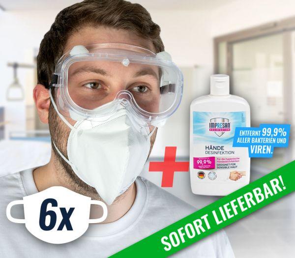 Corona Schutz- und Hygiene-Set