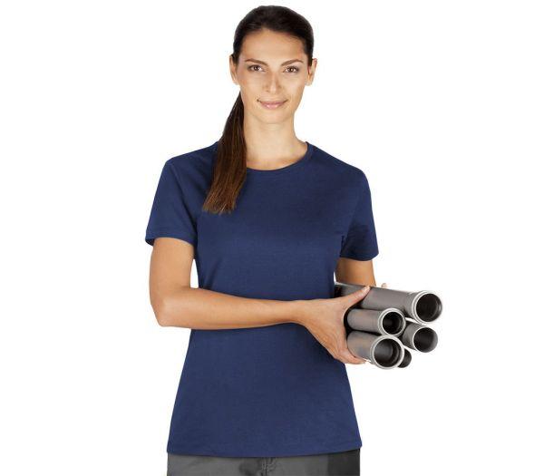 Damen T-Shirt Premium marine