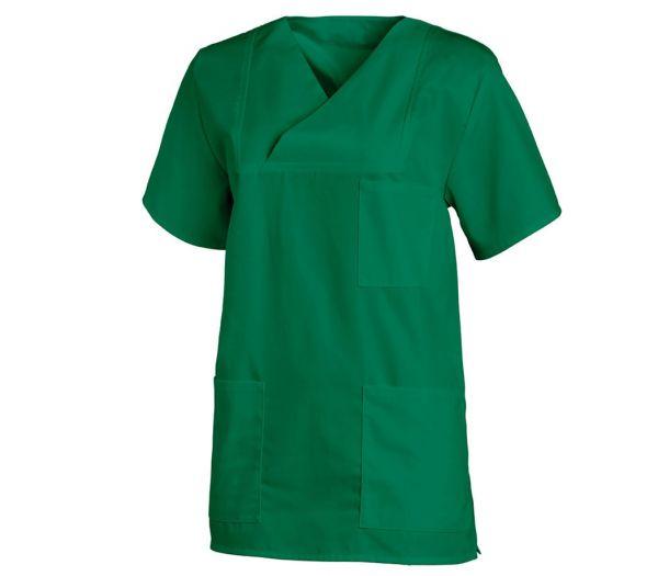 Schlupfkasack für Sie & Ihn Mischgewebe grün
