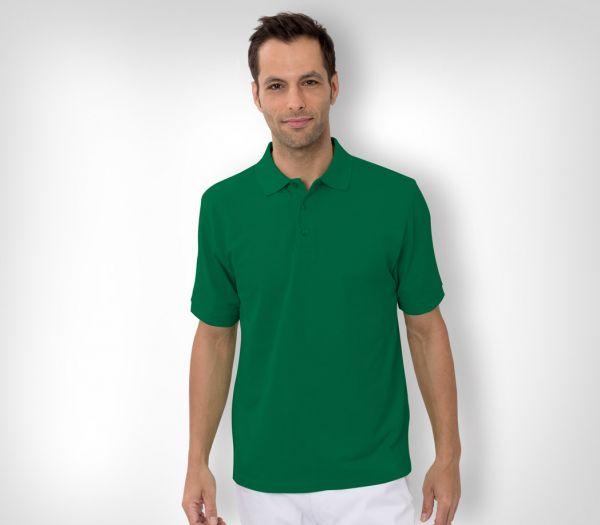 Herren Polo-Shirt Baumwolle hellgrün