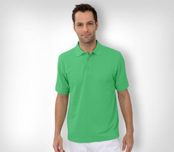 Herren Polo-Shirt Baumwolle apfel
