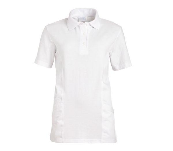 Polo-Schlupfkasack für Sie & Ihn Mischgewebe weiß