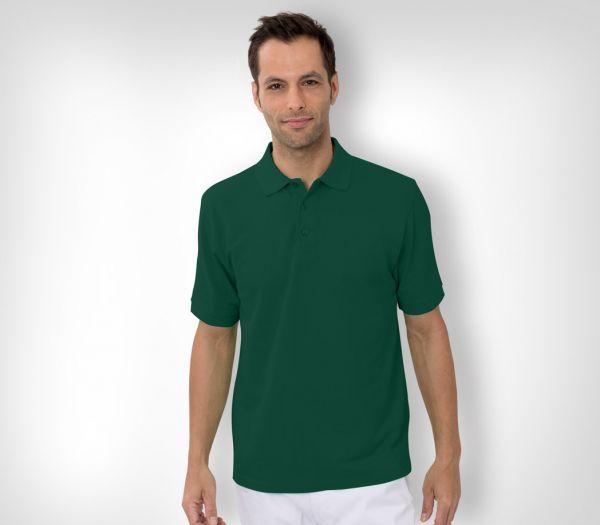 Herren Polo-Shirt Baumwolle grün