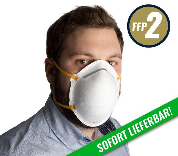 Mundschutzmaske FFP2 weiß
