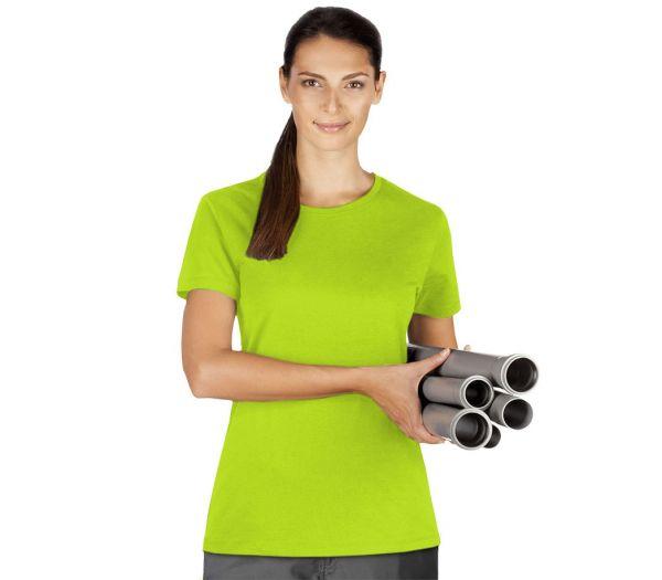 Damen T-Shirt Premium limette