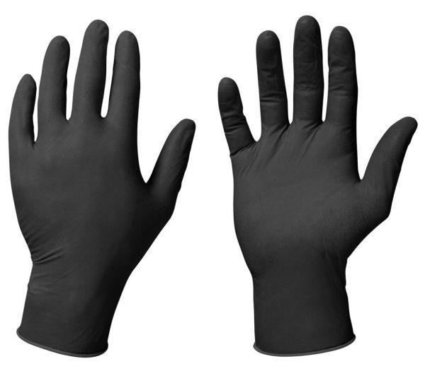 Einmalhandchuhe Nitril schwarz