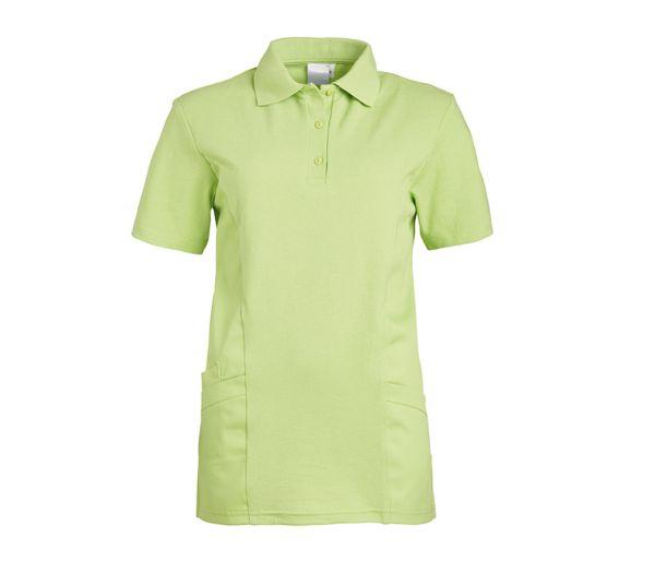 Polo-Schlupfkasack für Sie & Ihn Mischgewebe hellgrün