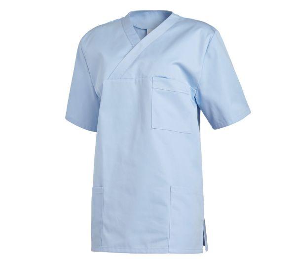 Schlupfkasack für Sie & Ihn Mischgewebe hellblau