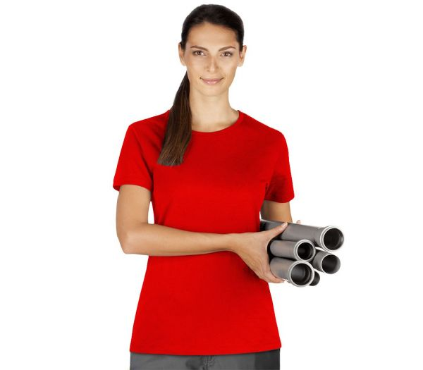 Damen T-Shirt Premium rot