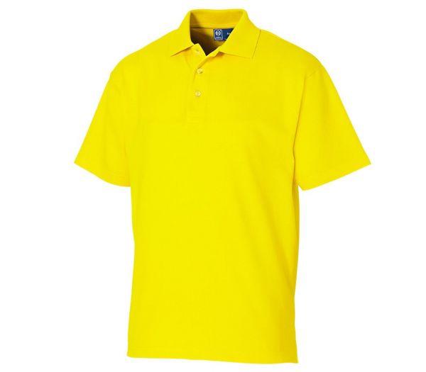 Poloshirt Premium gelb